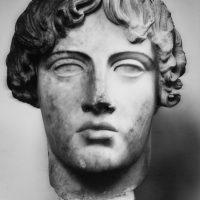Baia, 1997. Museo archeologico. Testa di Apollo.